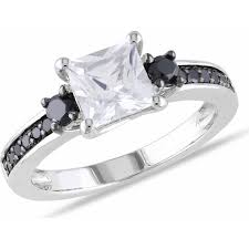 engagement rings with black diamonds rings walmart