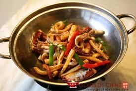 cuisiner le calamar calamar au poivron recette chinoise