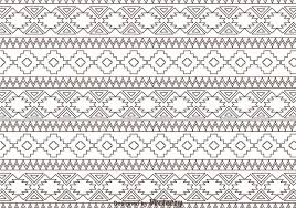 free vector outline aztec ornament pattern 6672 my graphic hunt