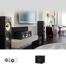 compact home theater subwoofer 600 series bowers u0026 wilkins
