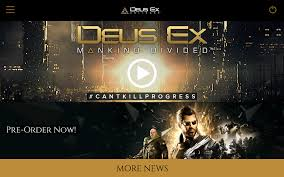 deus ex universe android apps on google play