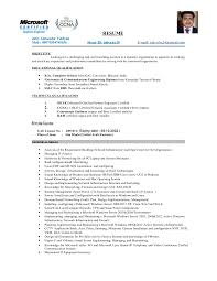 Sample Resume For Ccna Certified by Joby Resume
