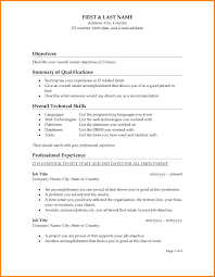 resume profile vs resume objective resume profile sle copy amusing resume profile sle