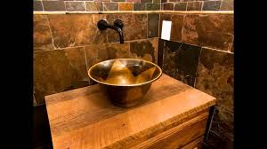 Rustic Bathrooms Designs by Easy Rustic Bathroom Design Ideas Youtube
