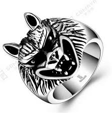 man cool rings images _ super cool wolf rings stainless steel punk biker man ring jpg