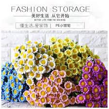 livraison de fleurs au bureau livraison gratuite 10 pcs lot pastorale style 8 tête marguerite