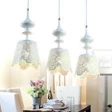Pendant Light Shades Australia Designer Pendant Lights Metal White Color Elegant 3 Light Shade