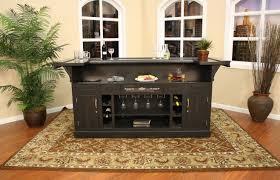 Indoor Bar Cabinet Bar Liquor Bar Table Portable Bars For Basements Wooden Corner
