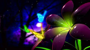 free animated screensaver wallpaper fantastic butterfly