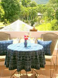 60 Inch Round Table by Round Table Cloth In Hmong Indigo Batik Cotton 90 75 Or 60 Inches