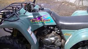 1995 yamaha wolverine 350 review youtube