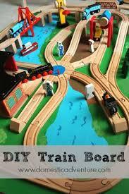 trains for train table diy train table this paint job is doable chugga chugga choo choo