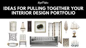 how to make an interior design portfolio youtube