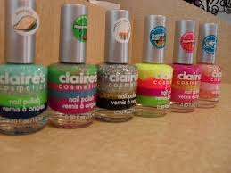 must haves at claire u0027s scented and four layers of bright colors