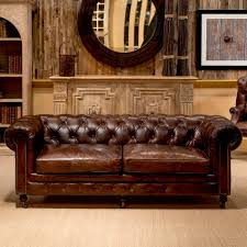 Leather Chesterfields Sofas Castered Chesterfield Sofa Sarreid Ltd Portal Your Source