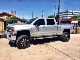 white jeep black rims lifted chevrolet silverado 2500 awt off road