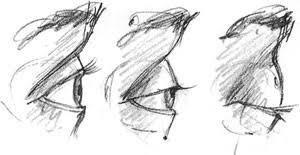 drawing eyes and eye movements