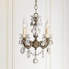 Miniature Chandelier Mini Chandeliers Luxe Looks For The Bedroom Bathrooms Closet