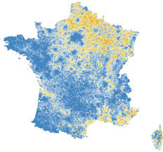 European Union Blank Map by How France Voted The New York Times