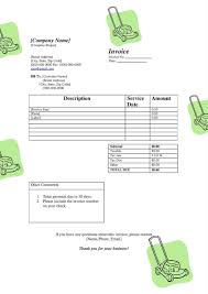 Lawn Maintenance Invoice Template by Invoice Template Thank Business Rabitah