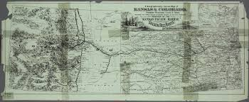A Map Of Colorado by Free Take A Correct County Map Of Kansas Pacific Railway Kansas