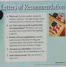 college apps why letters of recommendation are your friends