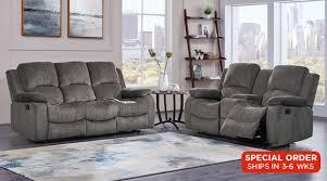 Chenille Reclining Sofa Living Rooms Java Moca Reclining Sofa Loveseat Set