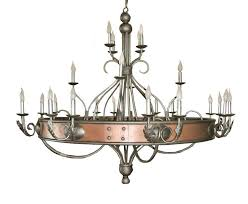 Gothic Chandelier Wrought Iron Chandelier Copper And Wrought Iron French Renaissance