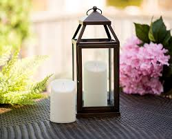 Outdoor Candle Lighting by Amazon Com Mystique Flameless Candle Ivory 7