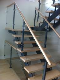metal landing banister and railing glass railing systems installation repair replacement stairs
