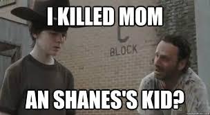 Rick Grimes Crying Meme - i killed mom an shanes s kid crying rick grimes quickmeme