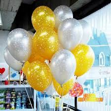 helium delivery 12 inch sky print balloon free delivery birthday party