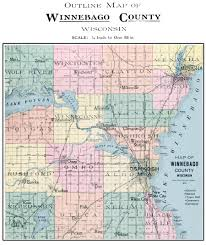 Zip Code Map Wisconsin by Winnebago County Photo Album