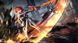 anime wallpapers girls sword fighting wallpaper anime girl fighting sci fi sword bodysuit
