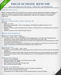 download how to write a resume for an internship