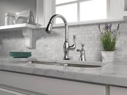 brizo faucets kitchen single handle pull kitchen faucet with smarttouch technology