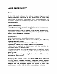 Cleaning Service Agreement Template It Maintenance Contract Template Contegri Com