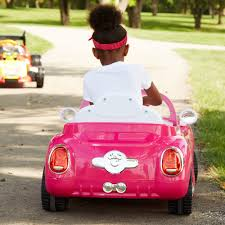 pink volkswagen beetle with eyelashes disney 6 volt battery powered electric ride on walmart com