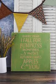 Easy To Make Home Decorations Easy To Make Fall Wood Sign