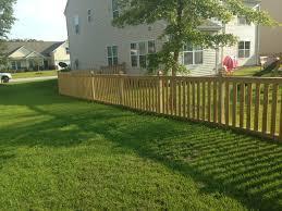 picket fences 4 u2032 1 4 inset cap u0026 rail top u0026 bottom picket fence c u0026s fences