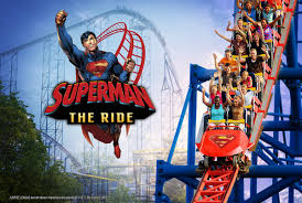 Six Flags Bus Schedule Superman Roller Coaster Takes Off At Six Flags New England Fox 61