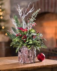 Christmas Lights In A Vase The 25 Best Christmas Floral Arrangements Ideas On Pinterest