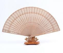 sandalwood fan unique asian sandalwood fan cheap wedding favors ewfh019 as low as