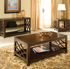 3 Piece Living Room Table Sets Standard Furniture Woodmont 5 Piece Counter Height Table
