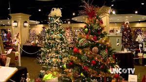 pinehurst festival of trees nc weekend unc tv youtube