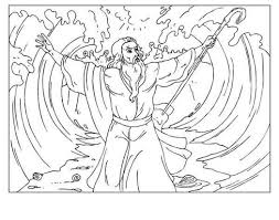 coloring pages moses red sea trend 694846 coloring pages for