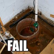 Basement Floor Drain Backing Up 7 Causes Of Sump Pump Failure And What To Do