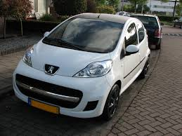 peugeot white peugeot 107 review and photos