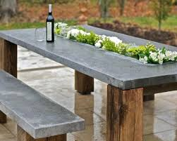 cement table and bench cement outdoor table cement outdoor table simple cement outdoor