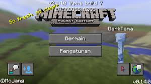 minecraft 7 0 apk website of darktama minecraft pe 0 14 0 build 7 apk